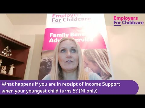 Income Support – what happens when your youngest child turns 5?