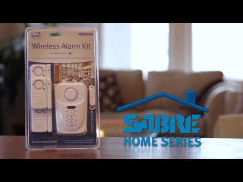 Home Security - SABRE Home Series - Wireless Alarm Kit