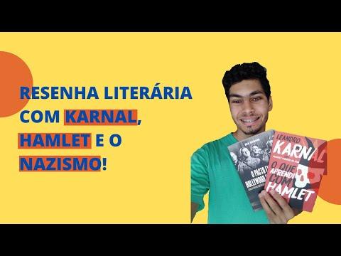 Resenha Literária com Karnal, Hamlet e o Nazismo!