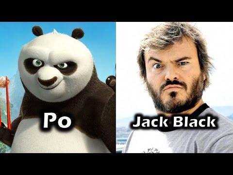 Characters and Voice Actors - Kung Fu Panda
