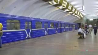 Nizhny Novgorod Russia  city photo : Нижегородский метрополитен - The Metro in Nizhny Novgorod, Russia 2016