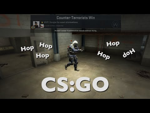 CS:GO - Reported for Bunny Hopping?