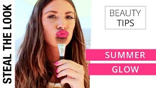 Summer Glowy by @GGDUVAL96 | Steal The Look Beauty Tips