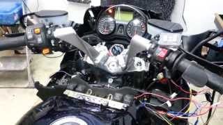 8. Kawasaki Concours 14 Rostra Electronic Cruise Control install Part 3
