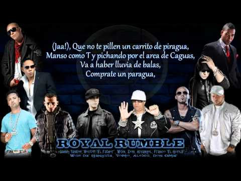 Daddy Yankee Royal Rumble (Los Benjamins)