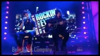 Justin Bieber - Boyfriend (Acoustic Version) New Year's Rockin Eve 13
