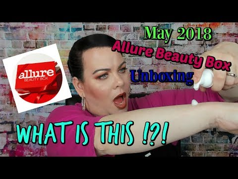 What is This!?!  // Allure Beauty Box May 2018 // Another Great Box!!!