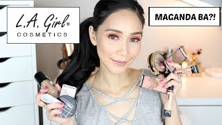 ️OPEN ME FOR MORE INFO! WATCH IN HD! Hello Guys! Here's my REVIEW on LA GIRL COSMETICS. Some I like ...