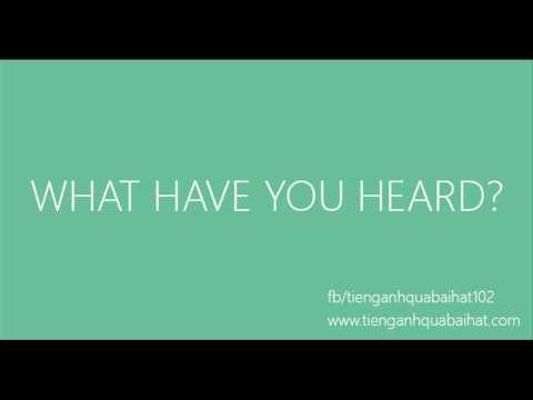 Luyện Nghe Tiếng Anh Qua Bài Hát 013 - Thời lượng: 60 giây.
