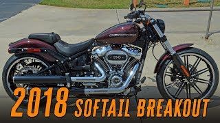 8. 2018 Harley-Davidson® FXBRS - BREAKOUT™ 114ci Twisted Cherry
