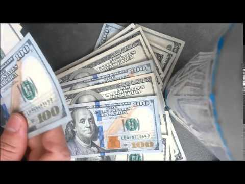 Counting Out the Benjamin's Imagine $15,000 Visualize Money 4min 34sec video