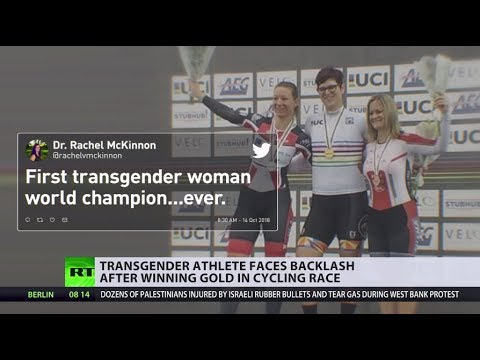 Transgender woman wins female cycling world championship - Fair or Cheating? (DEBATE)
