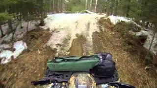 3. Polaris 850 XP Snow/slush/mud Ride 25 Avril