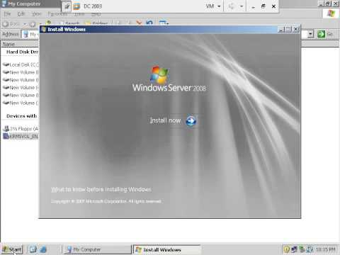 20 Upgrading From Windows 2003 To Windows Server 2008