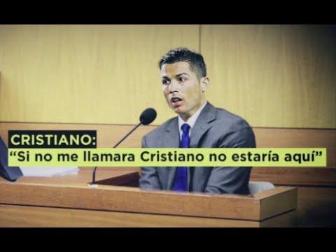 Cristiano Ronaldo declaró ante la justicia española (VIDEO)
