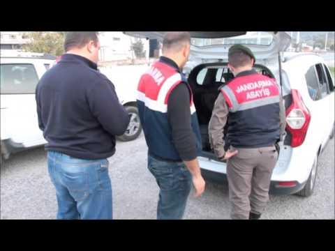 Bafa Jandarma Komutanlığı yol uygulama çalışmaları