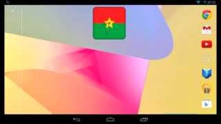 Burkina Faso Clock Widget YouTube video