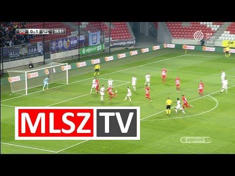 Ugrai Roland gólja a DVTK - Újpest mérkőzésen