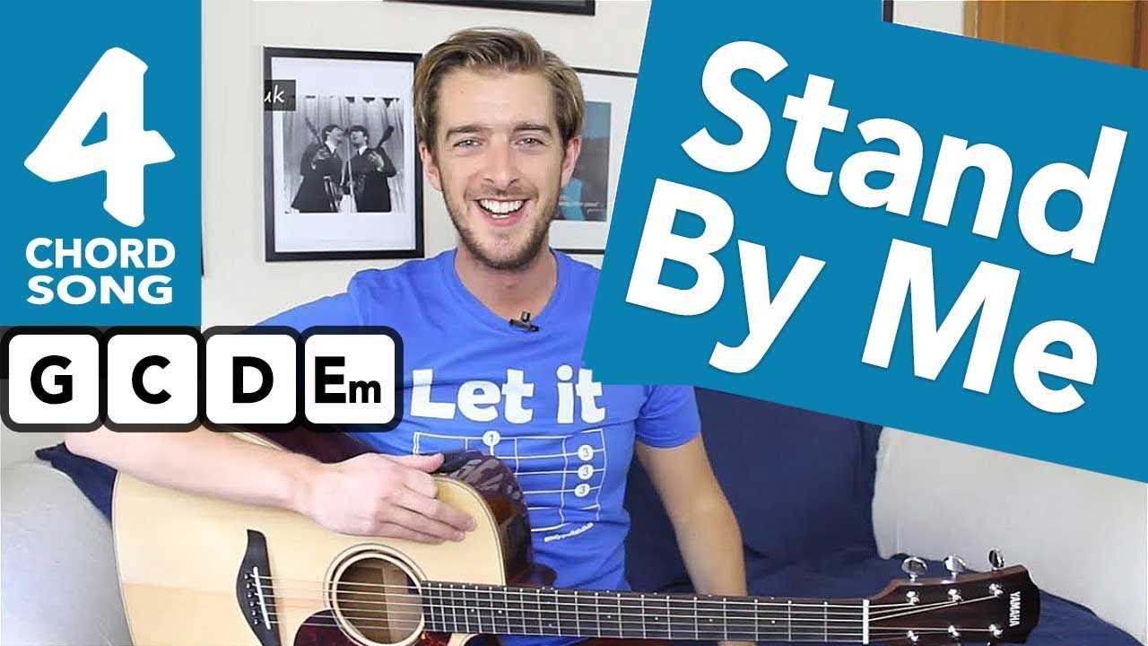Stand By Me Guitar Tutorial – Easy Guitar Songs for Beginners – How To Play Guitar Songs