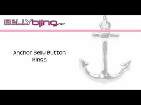Anchor Belly Rings