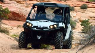 6. 2013 Can-Am Commander 1000 LIMITED side-by-side vehicles
