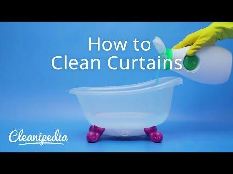 Πως να καθαρίσετε τις κουρτίνες