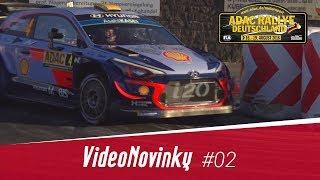 ADAC Rallye Deutschland 2018 - RZ 1 - městská superspeciálka