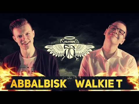 #SLOVOSPB - ABBALBISK VS WALKIE T (MAIN EVENT 2016)