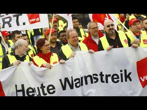 Deutschland: Bundesweite Warnstreiks im öffentlichen Di ...