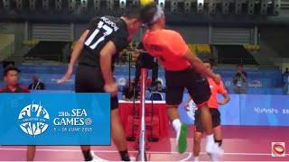 Video Sepaktakraw Men's Regu Philippines vs Singapore (Day 8) | 28th SEA Games Singapore 2015 MP3, 3GP, MP4, WEBM, AVI, FLV Februari 2019