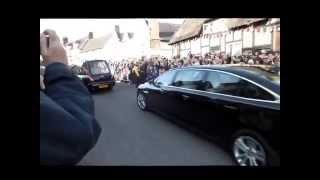 Market Bosworth United Kingdom  city images : King Richard III entering Market Bosworth