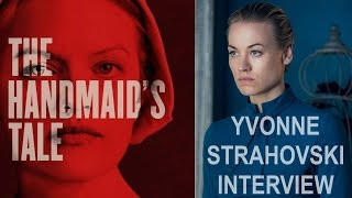 THE HANDMAID'S TALE INTERVIEW WITH YVONNE STRAHOVSKI ON CHUCK, DEXTER,  FULL EPISODE