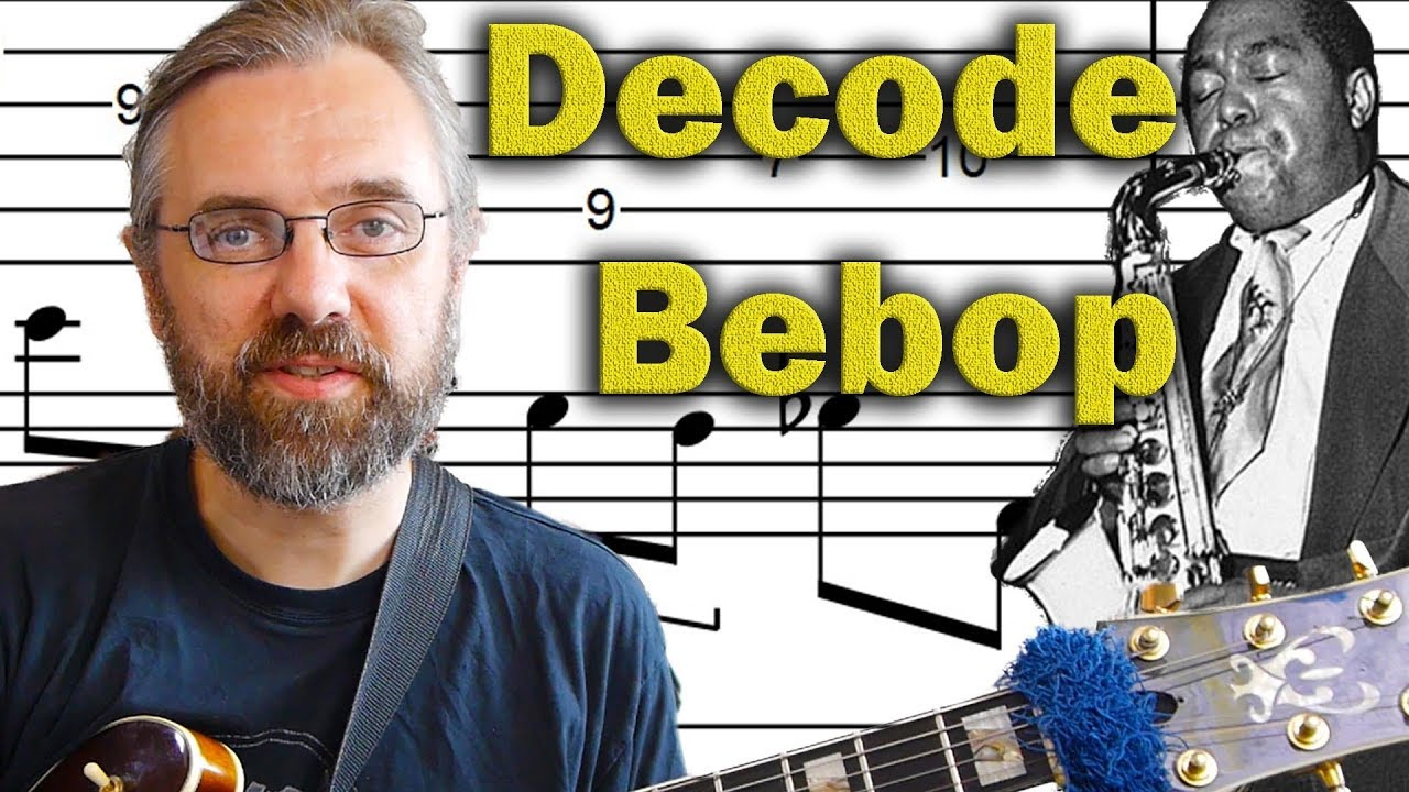 Bebop Jazz Guitar Licks – Classic Bebop Sound Decoded – Advanced Jazz Guitar Lesson