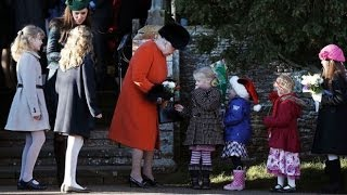 Royal family celebrate Christmas in Sandringham