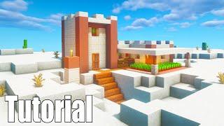 "Minecraft Tutorial: How To Make A Desert House ""2020 Tutorial"""