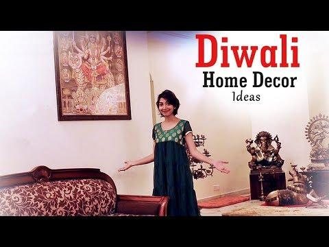 DIWALI Home Decor DIY  | Indian Youtuber