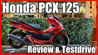 11. Honda PCX 125 Review & Testdrive
