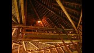 Bamboo lodge design and construction - Bohio, Villa Angelines