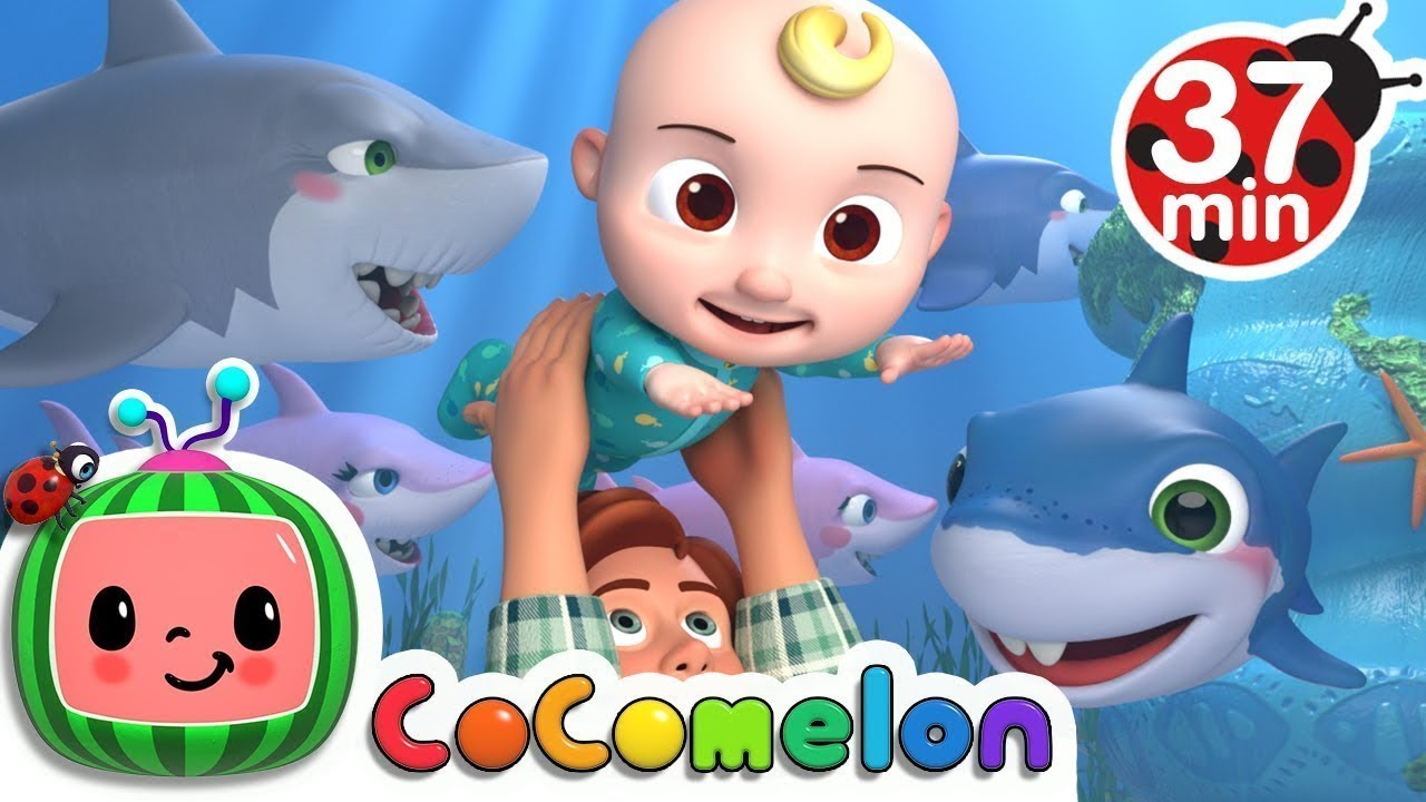 Baby Shark +More Nursery Rhymes & Kids Songs Cocomelon ABCkidTV - YouTube