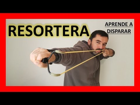 🎯 Resortera De Supervivencia 🐚.... Cómo Usar La Resortera Profesional 🎯