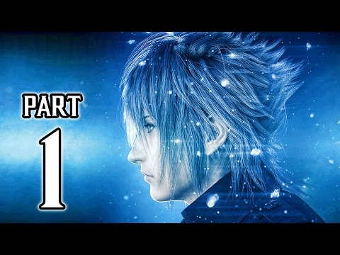 Final Fantasy XV Walkthrough PART 1 (PS4 Pro) No Commentary Gameplay @ 1080p HD ✔
