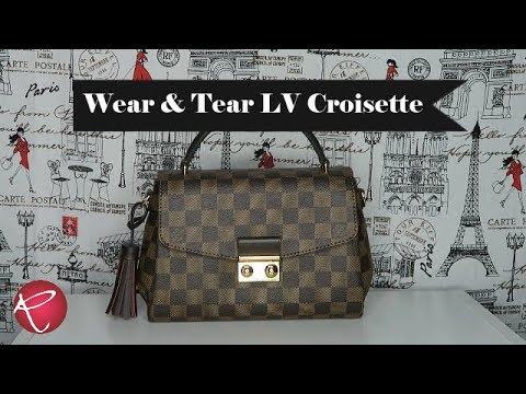 Louis Vuitton Croisette Wear And Tear | Red Ruby Creates