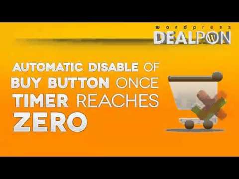 Dealpon – WordPress Coupon Plugin