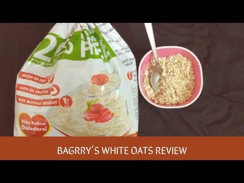 Bagrry's White Oats Review in Hindi - Oats Khane ke Fayde(Benefits/Nutrition)  Hello Friend TV