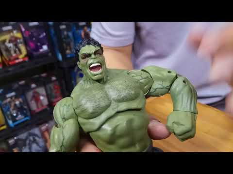 GREENLAND TOYS : HULK And HULKBUSTER FIGHT!!!