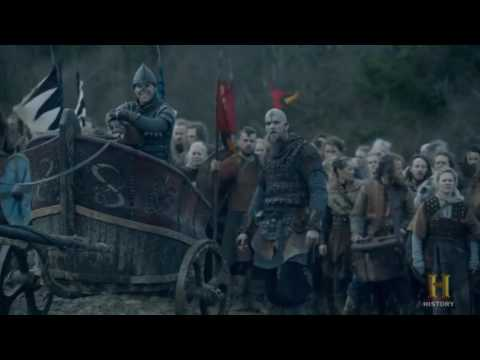 Vikings - Ivar's tactic war against Aethelwulf - with FEHU (vikings ost)
