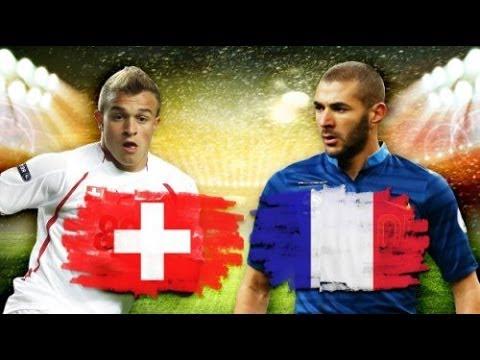 Щвейцария - Франция [FIFA WORLD CUP 2014 Brazil] Группа Е