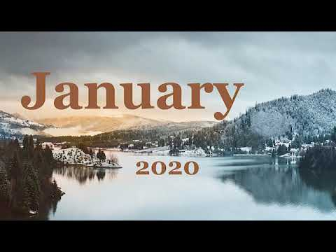 New Ambient Music 2020. Relax Mix. JANUARY