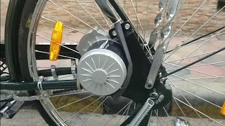 Video Build a powerful Electric Bicycle at home(PMDC 250W GEARED MOTOR) MP3, 3GP, MP4, WEBM, AVI, FLV September 2019