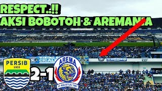 Video Respect ! Aksi Bobotoh Aremania Bikin Takjub |Persib vs Arema 2-1.. MP3, 3GP, MP4, WEBM, AVI, FLV Juli 2018